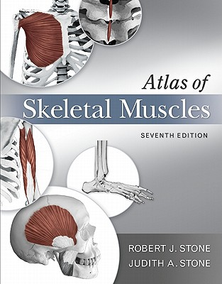 Atlas of Skeletal Muscles By Stone, Robert J./ Stone, Judith A.